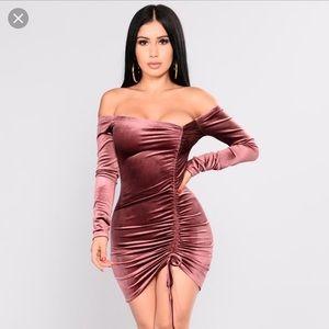 Fashion nova's year if the dragon velvet dress